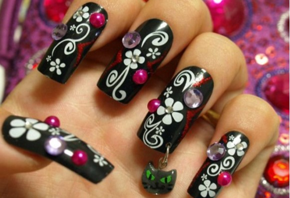 Japanese Style Nail Designs