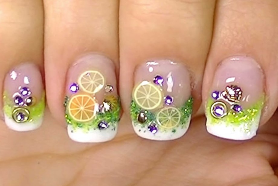 Lemon Nail Designs